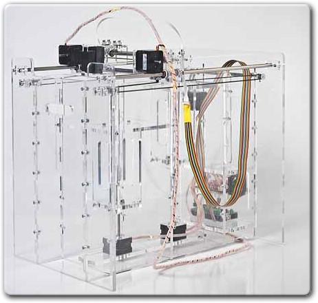 Самодельный 3D принтер с