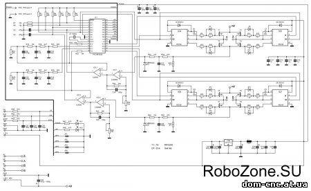 Схема драйвера для двигателя для робота фото 290